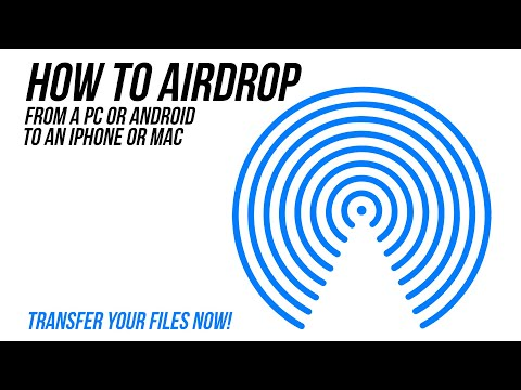 AIRDROP For PC & Android - HOW TO Transfer Photos From IPhone, IPad, Mac To Other Devices