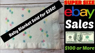 Super Sized eBay Sales Over $100!  May 9 2018