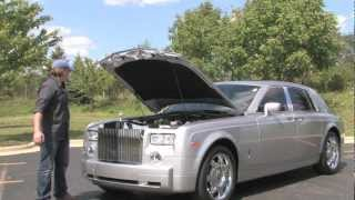 Rolls-Royce Phantom--Chicago Motor Cars Video Test Drive with Chris Moran 2012