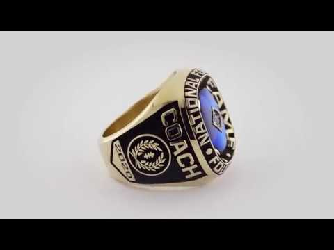 Making of the NFF College Football Hall of Fame Ring - Herff Jones