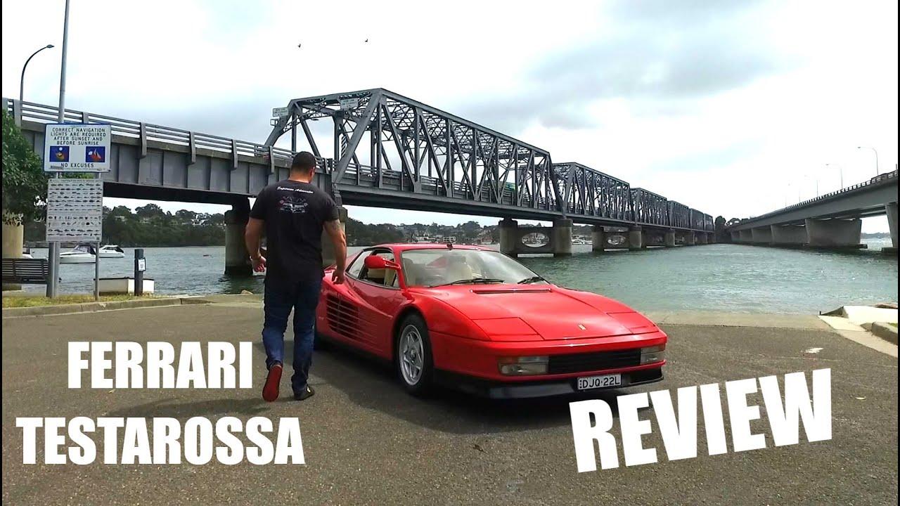 Ferrari Testarossa Monospecchio Performance Review