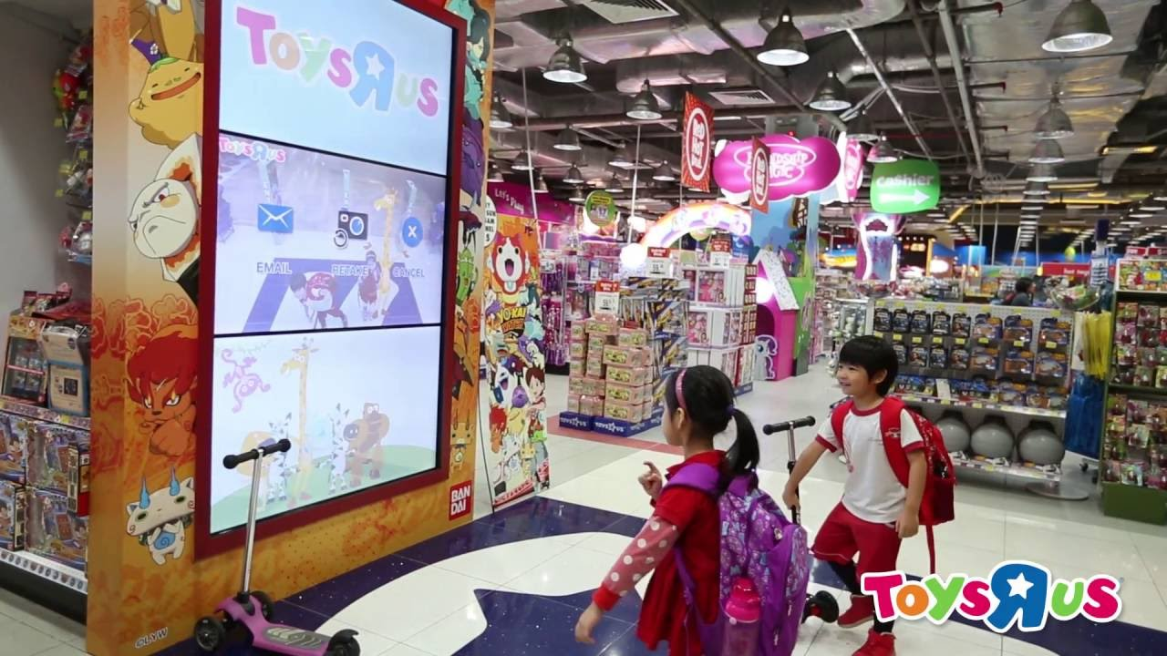 Toys R Us Asia The Interactive Play Wall Youtube