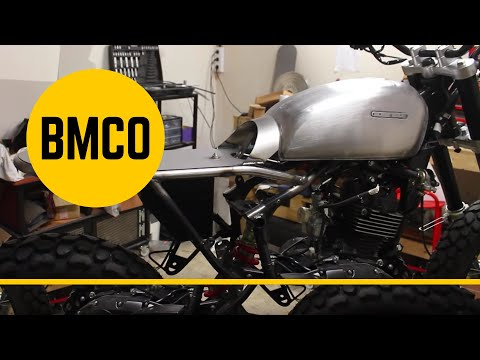 Born Tracker 125 - Motorcycle Modification #01