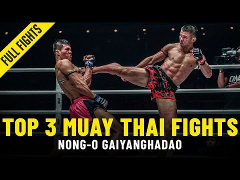 Nong-O's Top 3 ONE Muay Thai Fights