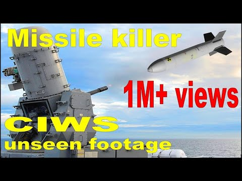 CIWS   Sea Whiz   Missile killer DEFENSES  Close in Weapon Systems facts military Phalanx