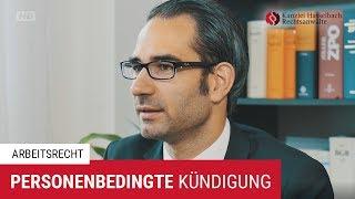 Die personenbedingte Kündigung: Gründe und Voraussetzung - Kanzlei Hasselbach
