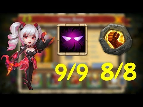 9/9 Unholy Pact 8/8 Brute Force Dove Keeper Gameplay L Castle Clash