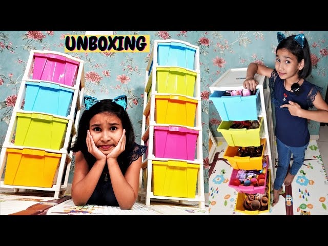 Plastic Modular Drawer for Home, Office, Hospital, Parlor, School, Doctors, Home and Kids #unboxing