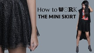 2 Ways To Wear A Mini Skirt - Fashion Tips for Girls