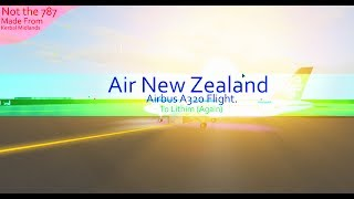 [Roblox Flight] Air New Zealand Airbus A320