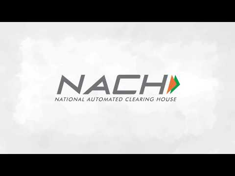 National Automated Clearing House (NACH)