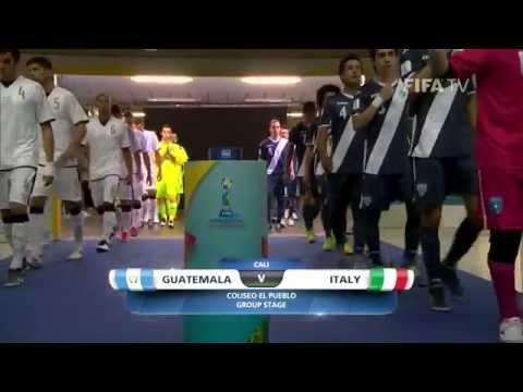 Match18: Guatemala v Italy - FIFA Futsal World Cup 2016