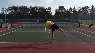 Andrei playing at a high school match - Shots of the day - Oct 2018