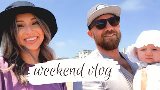 WEEKEND IN OUR LIFE! TRADER JOES HAUL | INDIE TURNS 4 MONTHS OLD!