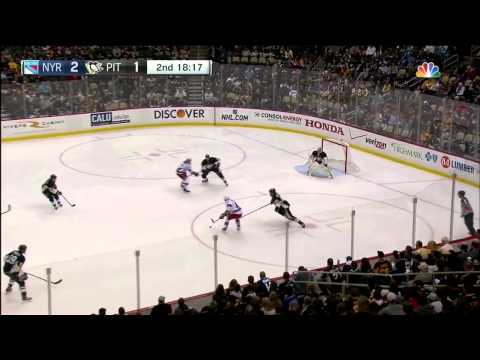 NHL 2015 01 18 New York Rangers vs. Pittsburgh Penguins