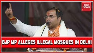 Mosque Politics : BJP MP Alleges Illegal Mosques Being Built In Delhi With AAP Support