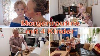 Vlog 115 meine Morgenroutine mit 4 Kindern