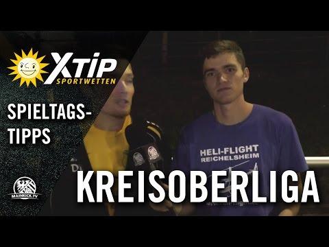 X-TiP Spieltagstipp mit D.Baumann und T. Schneider (SVP  Düdelsheim) – 6. Spieltag, KOL Büdingen
