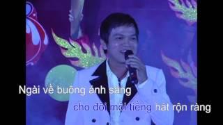 [Karaoke] Bài ca lửa cháy - Trần Ngọc (St: Thông Vi Vu)