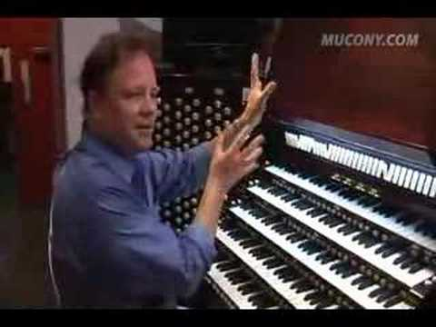Manhattan School Faculty, Justin Bischof's Organ Lesson