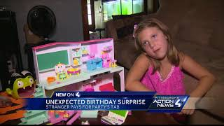 Happy birthday! Stranger picks up tab for 6-year-old girl's party at Applebee's