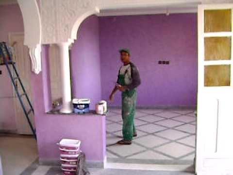 Marrakech peinture - MARICH (2) - YouTube