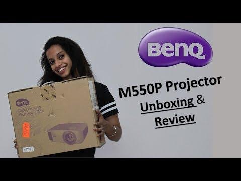 BenQ M550P Projector unboxing & Review ll Digital Projector