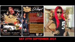 advert for d angel live direct from kingston jamaica in luton sat 27th sept flyers tickets hq