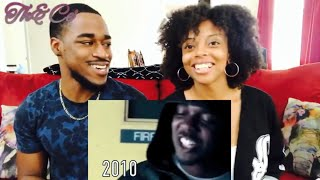 THE EVOLUTION OF KENDRICK LAMAR ! (Th&Ce' Reaction )
