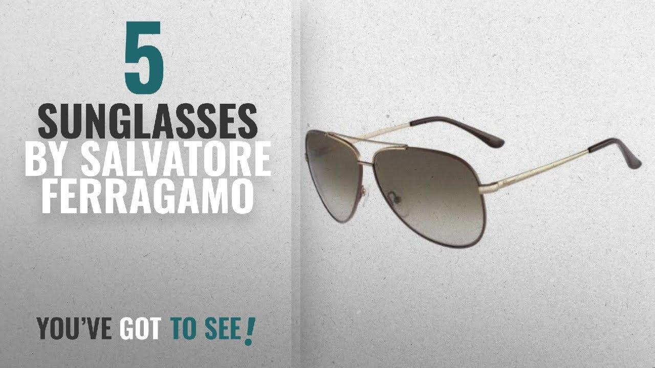 e21ada20ef2c Top 10 Salvatore Ferragamo Sunglasses [2018]: SALVATORE FERRAGAMO SF131S ( 211) 60