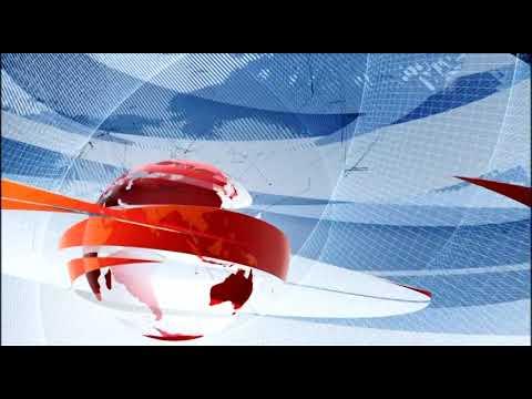 Рестарт эфира + часы и начало новостей (Первый канал, 25.01.2020)