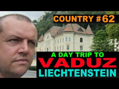 A Tourist's Guide to Vaduz, Liechtenstein