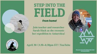 "Live with Teacher and Antarctic Researcher, Sarah Slack: ""The Most Dangerous Glacier on Earth"""