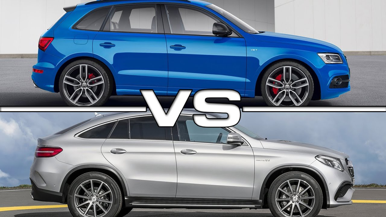 2016 audi sq5 tdi plus vs 2016 mercedes amg gle63 coupe youtube. Black Bedroom Furniture Sets. Home Design Ideas