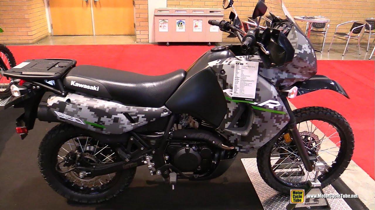 2016 Kawasaki Klr650 Camo Walkaround Toronto Motorcycle Show