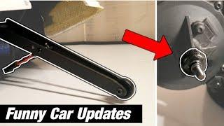 Traxxas Funny Car CUSTOM Wheelie Bar & More Problems