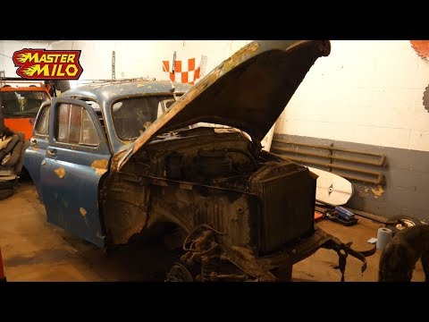 Gaz M20 part2 (hunting for rust)