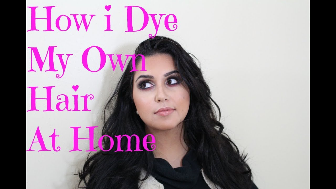 How To Dye Natural Black Hair Brown At Home