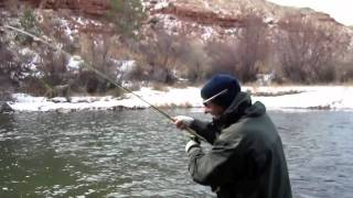 Winter Fly Fishing Report Video Dubois WY Jan 1 2012 | Marlows Fly Shop Online(http://mflyshop.com/winter-fly-fishing-report-dubois-wy-video-112012/ Do you like Winter Fly Fishing? Excellent. I put together a quick video with a little fly fishing ..., 2012-01-02T01:46:17.000Z)