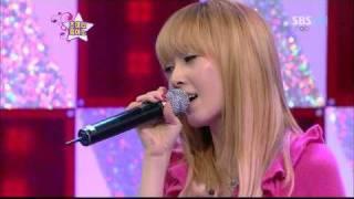[HD] Jessica (SNSD) Singing Cut - I Always Love You ( Feb 13 2010 )