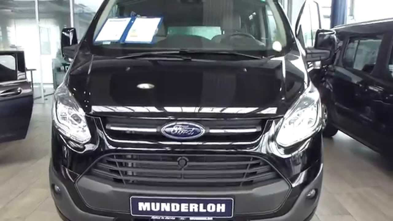 2014 Ford Transit Tourneo Custom Exterior Interior 22 TDCi 125 Hp 150 Km H Playlist