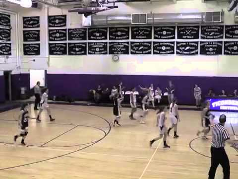 Ticonderoga - NCCS Varsity Girls  1-9-13