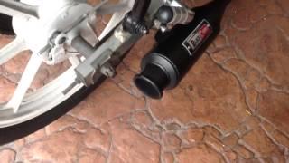 Modenas kriss 110 black cobra exhaust