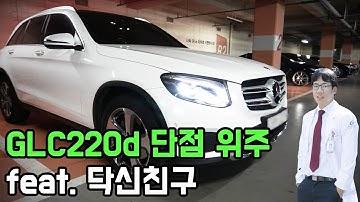 벤츠 glc  220d 4matic  단점위주 장기시승기 feat. 닥신 친구