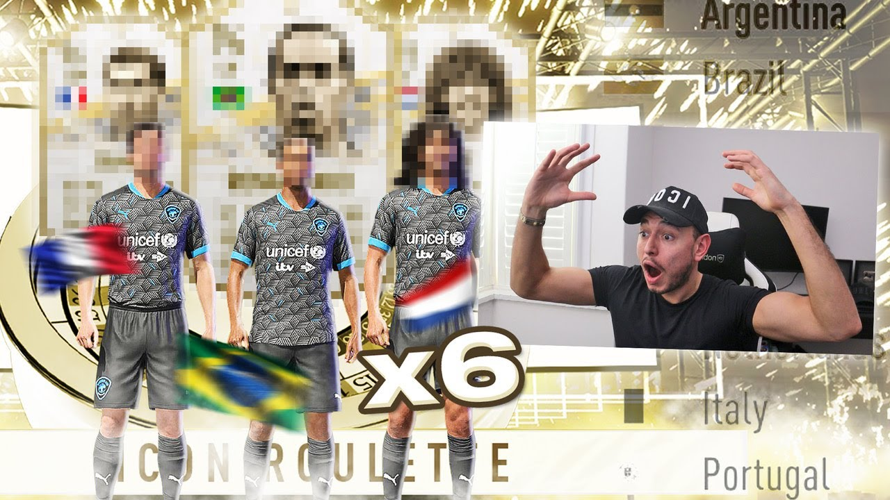 Download OMG 6X PRIME ICON ROULETTE PACKS!!! (FIFA 21 ULTIMATE TEAM)
