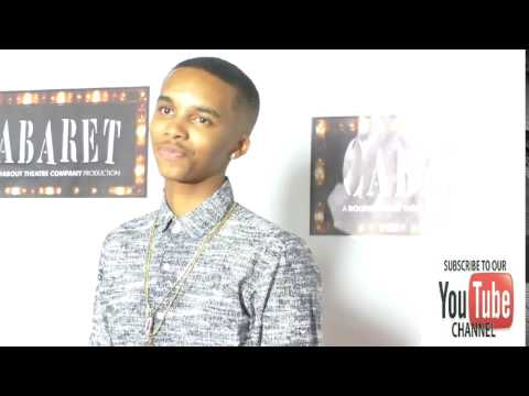 Donis Leonard Jr at the  Of Cabaret At Hollywood Pantages Theatre