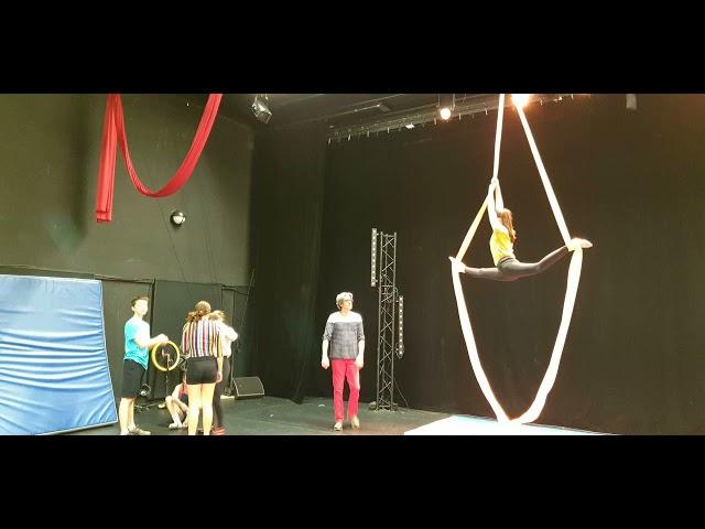 L'école de cirque Balles à fond à Quimper [Janvier 2020]