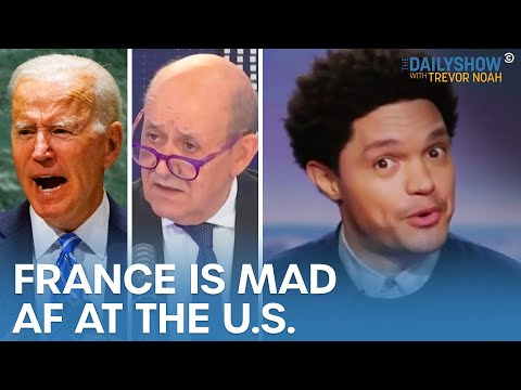 France Is Pissed at the U.S. Over an Australian Submarine Deal | The Daily Show
