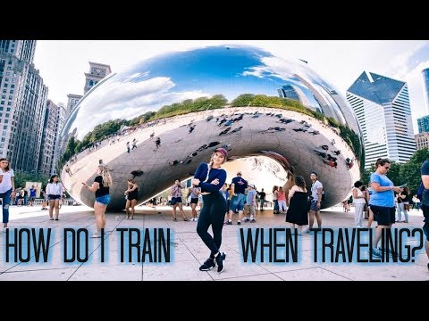 THE BEST WAY TO WORKOUT WHEN TRAVELING | Alphalete World Tour: Chicago [Vlog]
