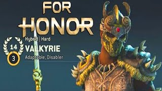 For Honor - PRESTIGE 14 VALKYRIE GAMEPLAY & MY COMPLETE VALKYRIE BUILD!